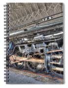 Norfolk And Western Locomotive 1218 Spiral Notebook