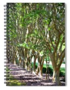 Norfolk Botanical Garden 5 Spiral Notebook