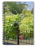 Norfolk Botanical Garden 8 Spiral Notebook