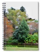 Norfolk Botanical Gardens Canal 9 Spiral Notebook