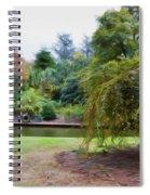 Norfolk Botanical Gardens Canal Spiral Notebook