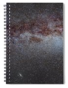 North America Nebula The Milky Way From Cygnus To Perseus And Andromeda Galaxy Spiral Notebook