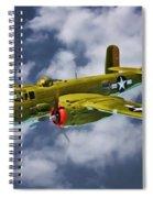 North American B-25j Spiral Notebook