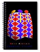 North American Pattern Spiral Notebook