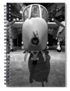 North American Rockwell Bronco Spiral Notebook