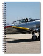 North American  Snj-5 2 Spiral Notebook