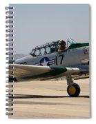 North American  Snj-5 Spiral Notebook