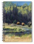 North American Waterhole Spiral Notebook