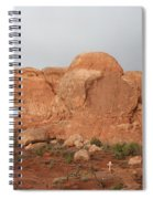 North And South Window Arches Np Spiral Notebook