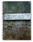 North Carolina Country Barn Spiral Notebook