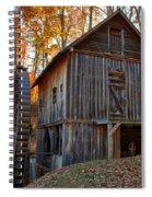 North Carolina Grist Mill Photo Spiral Notebook