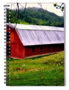 North Carolina Red Barn Spiral Notebook