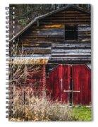 North Carolina Red Door Barn Spiral Notebook