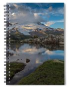 North Cascades Tarn Reflection Spiral Notebook