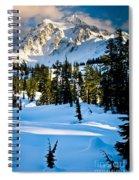 North Cascades Winter Spiral Notebook