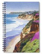 North County Coastline Spiral Notebook