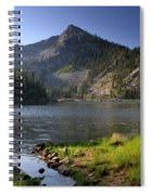 North Face Of Jughandle Mountain Spiral Notebook
