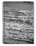 North Fork Of The Flathead River Montana Bw Spiral Notebook