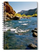 North Fork Of The Shoshone River Spiral Notebook