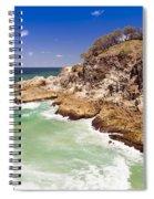 North Gorge Stradbroke Island Spiral Notebook
