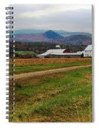 North Haverhill Farm In Fall Spiral Notebook