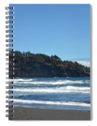 North Kona Coastline 1 Spiral Notebook