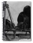 North Pole Sewing, C1909 Spiral Notebook
