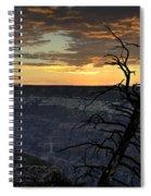 North Rim Dawn Spiral Notebook