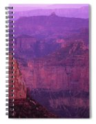 North Rim Grand Canyon Spiral Notebook