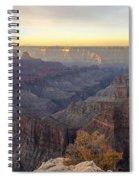 North Rim Sunrise Panorama 2 - Grand Canyon National Park - Arizona Spiral Notebook
