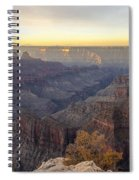 North Rim Sunrise Panorama 2 - Grand Canyon National Park - Arizona Spiral Notebook