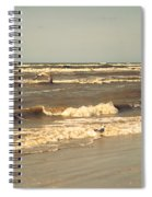 North Sea Coastal Line 1. Holland Spiral Notebook