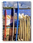 North Shore Surf Shop Spiral Notebook