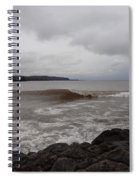 North Shore Wave Spiral Notebook