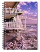 North Topsail Beach Tides That Tell Spiral Notebook
