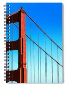 North Tower Golden Gate Spiral Notebook