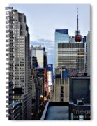 North Up Seventh Avenue Spiral Notebook