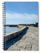 North Wall - Lyme Regis Harbour 2 Spiral Notebook