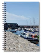 North Wall - Lyme Regis Harbour Spiral Notebook
