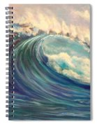 North Whore Wave Spiral Notebook