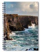 Northern Atlantic Spiral Notebook