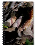 Northern Copperhead Spiral Notebook