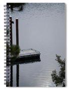 Northern Idaho Winter Spiral Notebook