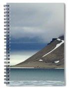 Northern Island In Svalbard Spiral Notebook