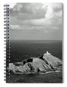 Northern Lighthouse Spiral Notebook