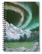 Northern Lights - Alaska Spiral Notebook
