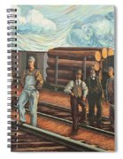 Northern Pacific Railway Spiral Notebook