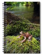 Northern Red-legged Frog Spiral Notebook