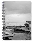 Northern Spring Marina Spiral Notebook
