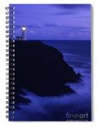 Northhead Ilwaco Lighthouse Spiral Notebook